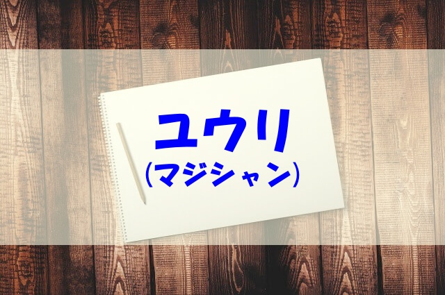 ユウリ マジシャン wiki 経歴 高校 実績