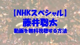 NHKスペシャル 藤井聡太 動画
