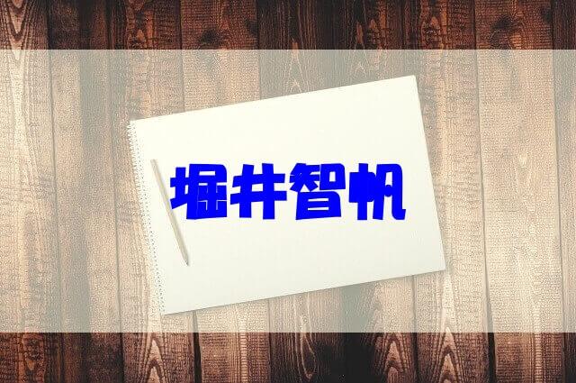 堀井智帆 wiki 経歴 学歴 年収 家族