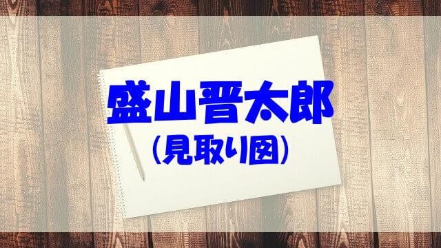 盛山晋太郎 中学 ラップ 昔 結婚 経歴