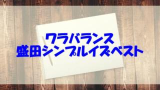 盛田シンプルイズベスト wiki 本名 経歴 高校 大学 年齢